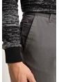 DeFacto Paco Slim Fit Chino Pantolon Gri